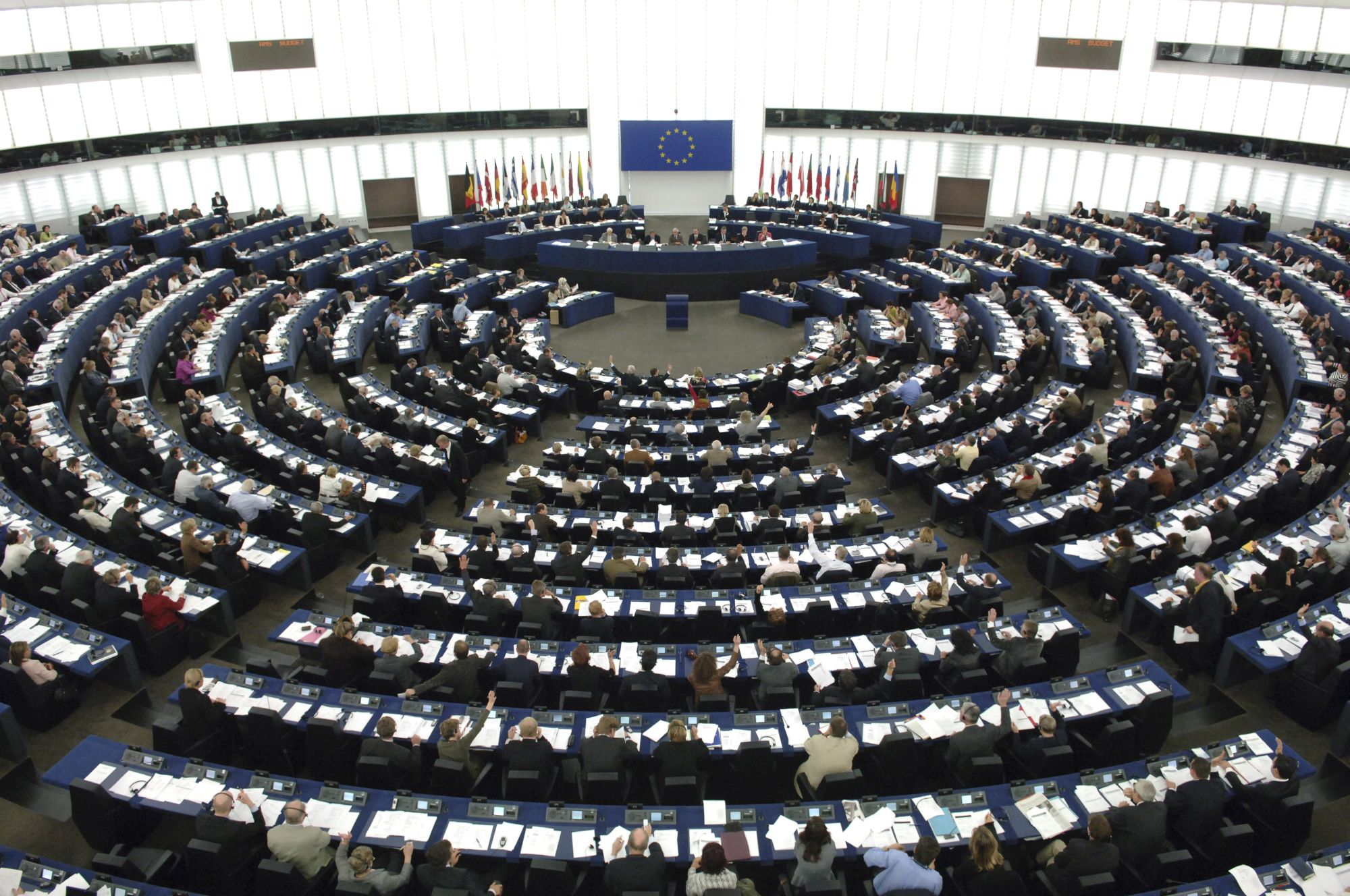 Stemming in het Europees Parlement